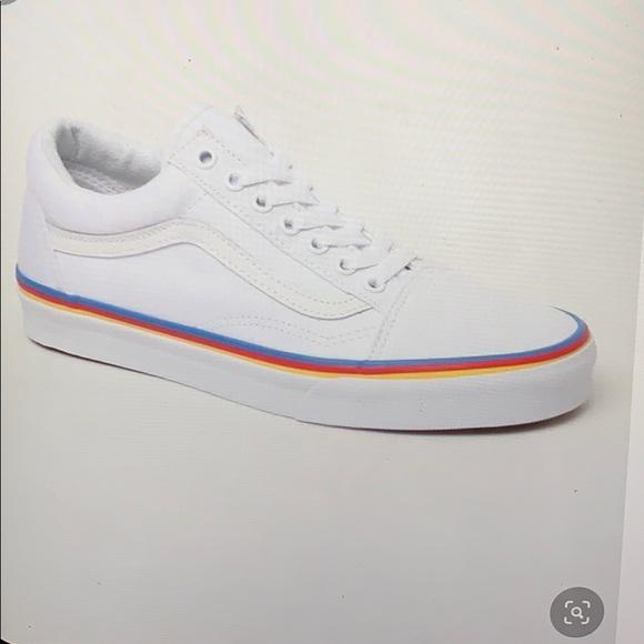 Vans Rainbow Foxing Old Skool Sneakers